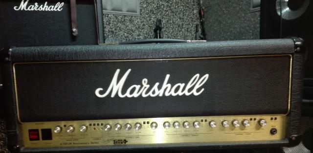 Cambio Marshall 6100 lm 30th aniversario X combo/guitarra