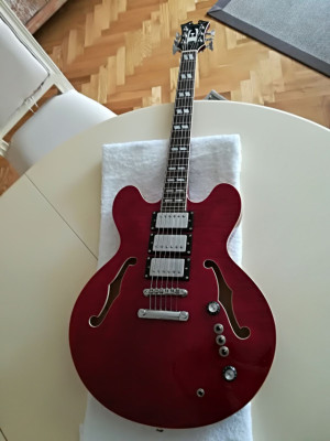Guitarra Eastwood Joey Leone Signature LTD