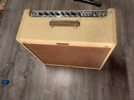 """Fender Blues Deville 4x10 """"Pata Negra"""" (nuevos cambios)"""