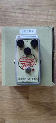 Electro-Harmonix Soul Food Pedal overdrive.