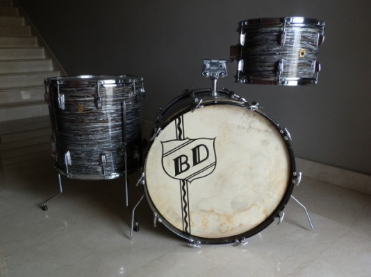Batería Ludwig Blue Oyster 1966 Vintage Drums
