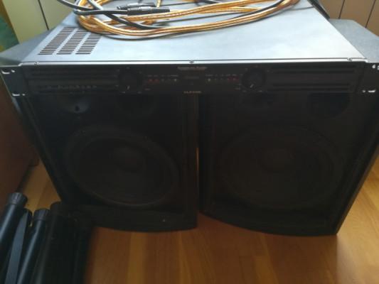 Pack de Amplificador y Altavoces