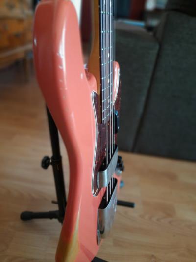 Fender jazz bass road worn