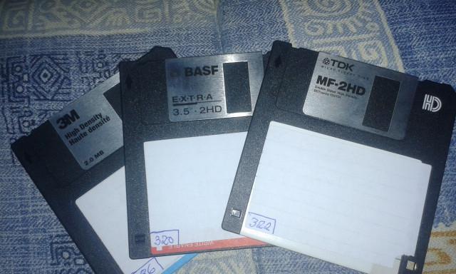 Diskettes 3,5 hd