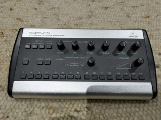 Behringer Powerplay P16-M Personal Mixer + P16-I Module