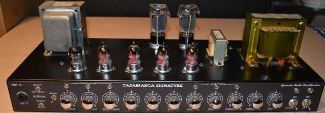 Amplificador réplica de un Soldano SLO