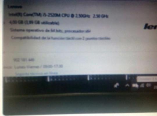 vendo portatil hackintosh i5 con ssd dual boot WIN-MAC