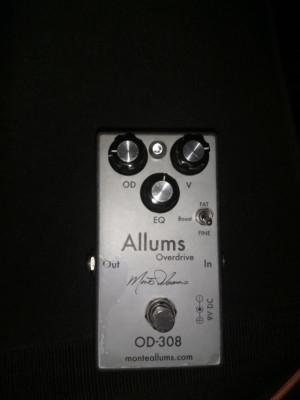 (o cambio) Monte Allums Overdrive OD-308