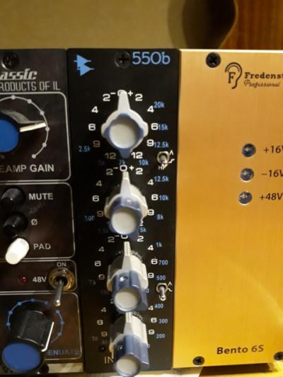 Modulo API 550 EQ de la serie 500