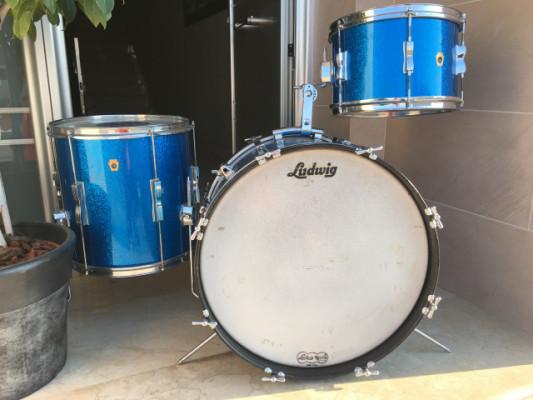 Ludwig Club Date Blue Sparkle 1967