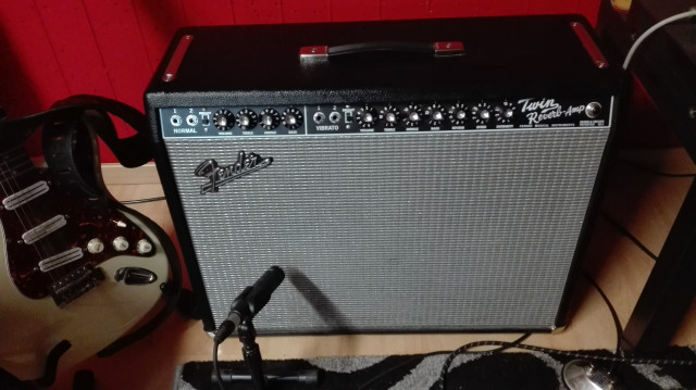 FENDER TWIN REVERB 65 IMPECABLE!!