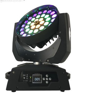 Cabeza movil WASH LED 36 X 18W 6 EN 1+ ZOOM + MACROS