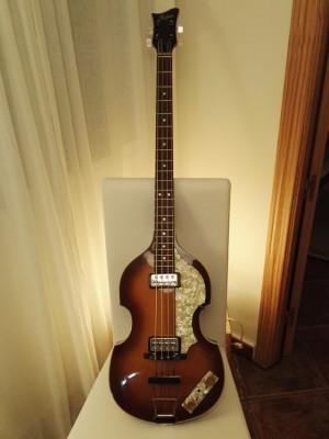 Bajo Eléctrico Höfner 500/1-64-0 Violin Bass VINTAGE 63
