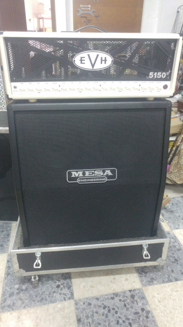 4x12 Mesa Boogie ROAD KING Slanted Stereo + Flight Case + Cable Boutique