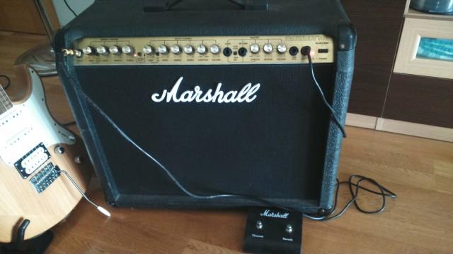 Amplificador guitarra Marshall Valvestate 8080