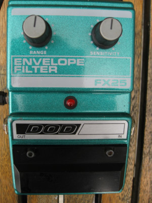 DOD FX25 Envelope Filter 1987 Flea Bootsy USA
