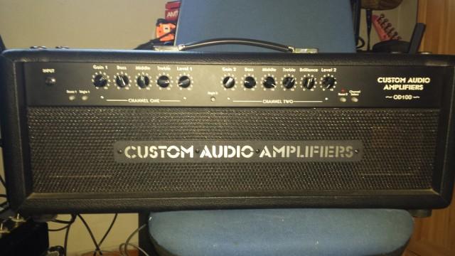 Custom audio electronics OD 100 ADMITO CAMBIOS