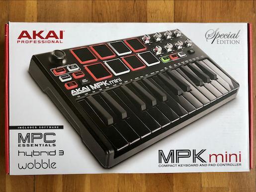 Teclado AKAI MPKII mini Edición Especial