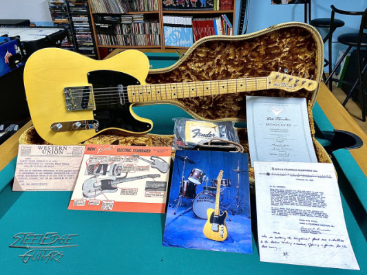 Fender Broadcaster Custom Shop Commemorative 1999 Limited Edition
