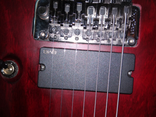 Guitarra 7 cuerdas. Schecter