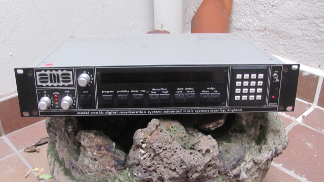 AMS RMX 16 digital reverberation system, reverb mítica 80's