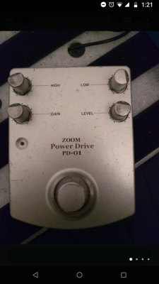 (Cambio)Booster Overdrive Zoom Power Drive PD-01