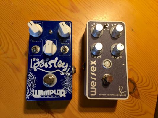 Bogner Wessex / Wampler Paisley (VENDIDOS)