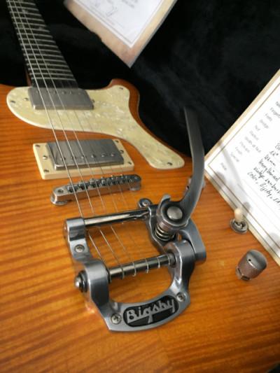 Gamble Guitars Miss G Custom 2017 Flamed Maple Vintage Sunburst