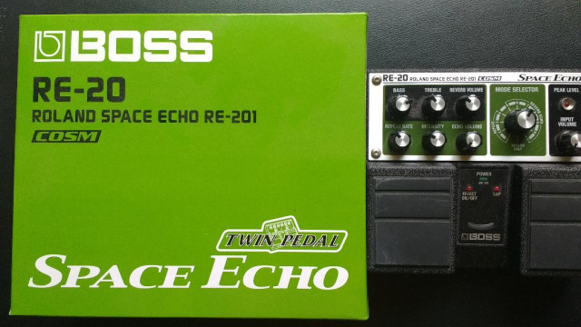 Pedal Space Echo RE-20