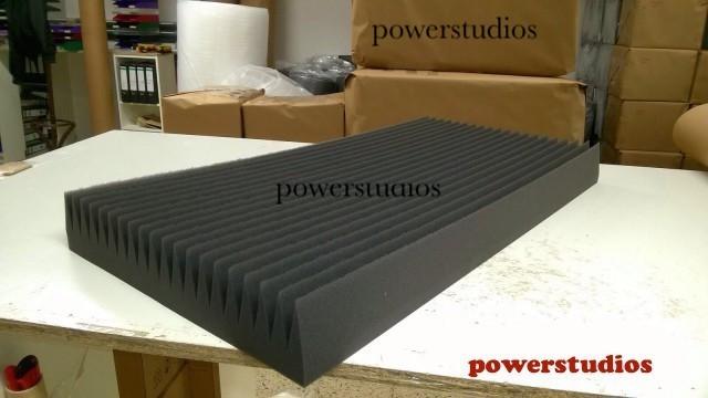 """Oferta promoción -10 super Paneles Acústicos- trianguakustick 100x50x10cm, 5m² Nuevos """" en Stock ! envío incluido"""