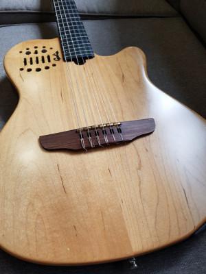 Godin ACS-SA Nylon  Maple/Mohogany