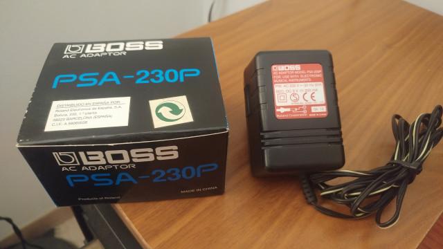 2 Alimentadores de corriente para pedales BOSS PSA 230P