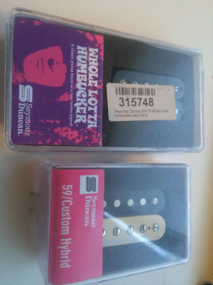 Pastillas Seymour Duncan Por EMG Retroactives
