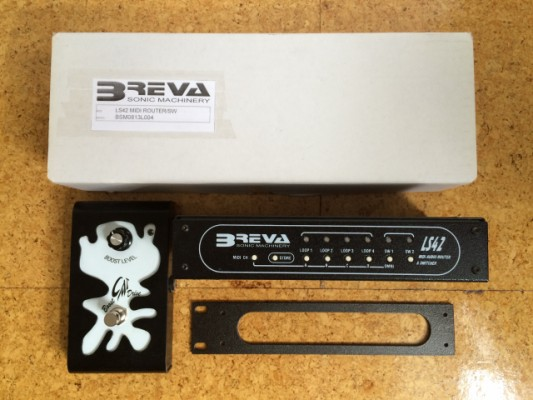 SWITCHER / ROUTER BREVA LS42 (((REGALO PEDALERA MIDI)))