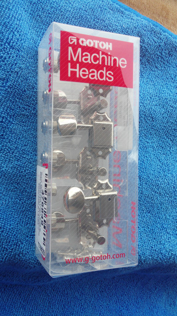 Gotoh SD90 - 05M 3L + 3R Nickel Tuners afinadores japoneses