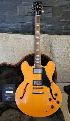 Gibson Memphis ES-335 Tascam Orange 2016