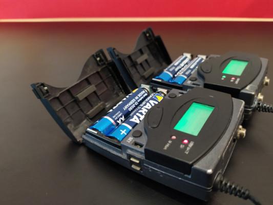 Senheisser EW100 G2 Emisor + Receptor Petacas. (2 UDs)
