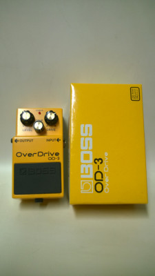 Pedales Boss OD3 CS3 Overdrive Compresor