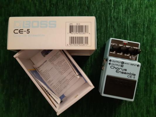 BOSS CE-5 Chorus para guitarra y bajo