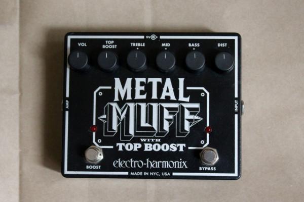 Pedal Electro Harmonix Metal Muff/ Top Boost