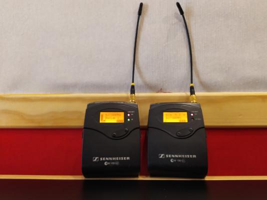Senheisser EW100 G3 Emisor + Receptor Petacas (4 Uds)