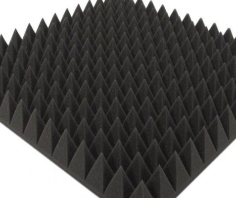 "oferta promoción, paneles acústicos optimal pyramid, 36 paneles 7cm aprox de altísima calidad ¡Nuevos "" en Stock!"