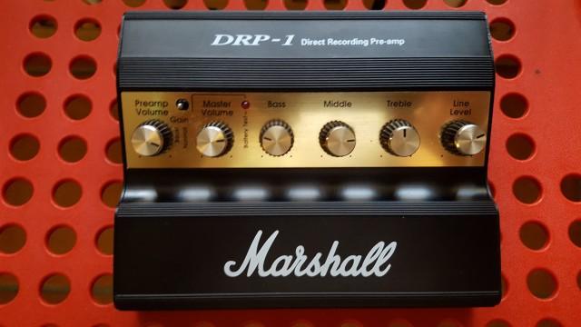 Vendo Pre-Amp Marshall DRP-1 -CAMBIADO-