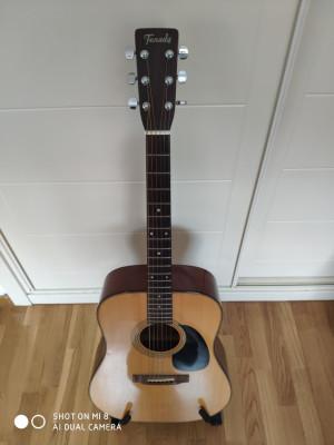 vendo guitarra acústica terada 70s