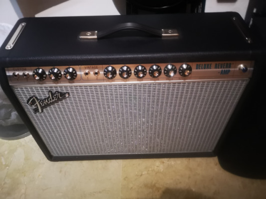 Fender Deluxe Reverb Custom 68 Silverface