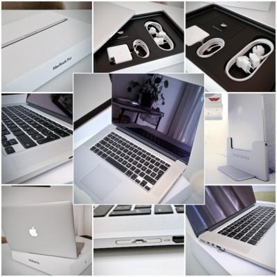 Apple MacBook Pro retina 15 pulgadas mid 2015 + accesorios de pro