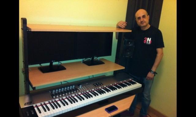 Teclado maestro 88 teclas ESI-K.On (Tecla de piano contrapesada)
