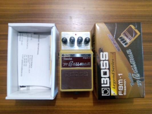 Pedal Boss Fbm-1 Fender Bassman