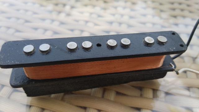 Pastilla Jazz Bass Puente ¿FENDER? black bobin 7.82K