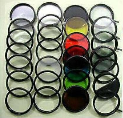 Kit de filtros de 58mm